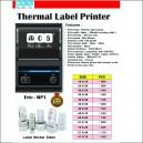 Thermal Label  & Bar code Printer